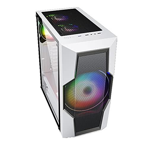 Cajas Informáticas, Mediados De La Torre Ordenador Personal Caja De Juegos ATX/M-ATX/ITX - Parte Delantera E/S USB 3.0 Puerto - Panel Lateral De Cristal Acrílico - 200 Mm FANM Big