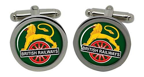 Family Crests British Railways Cyclisme Lion Crest 1950-56 Boutons avec Boîte Cadeau Chrome