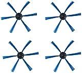 NICERE Recambios para aspiradoras Philips FC8146 FC8134 FC8142 FC8136 piezas de repuesto para aspiradoras Philips FC8146 FC8134 FC8142 FC8136 (color 4 cepillos laterales)