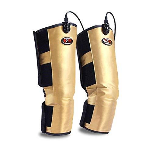 Mustbe Strong Rodillera calefactable, Soporte para la transpiración de Las piernas, calambres Artritis Recovery Relax Circulación Muscular con Controlador para Padres Regalo de Edad Avanzada