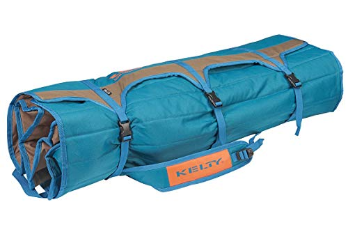 Kelty Low-Love Seat Camping Chair, Deep Lake/Fallen Rock - Portable, Folding...