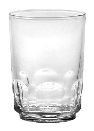 Duralex 1018AR06/6 Vaso de vidrio resistente, 9 oz, transparente