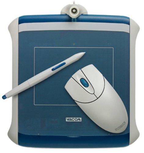 Wacom Graphire2 Pen, Mouse & Tablet Set (Steel-Blue)
