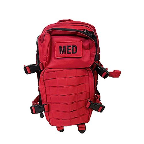 Prepper Supplies Best Sellers - Fully Stocked Tactical Trauma Backpack (OD)