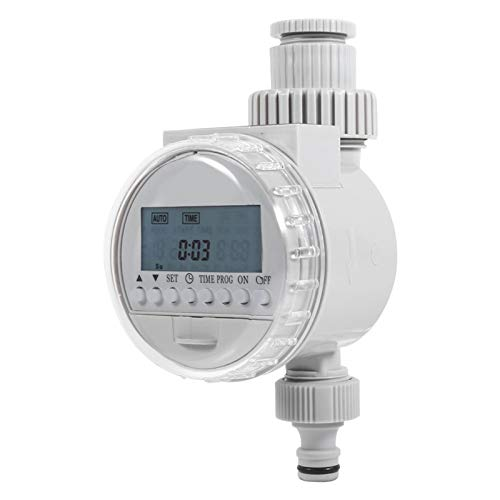 Haofy Solar Irrigation Timer Water Timer, Digital Hose Faucet Timer Programmable Sprinkler Controller for Garden Automatic Irrigation System