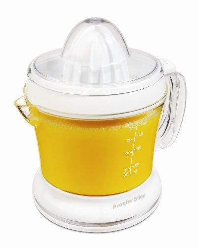 Proctor-Silex Juicit 34 Oz Citrus Juicer, White (66332RY)