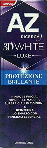AZ 3D White Luxe Protezione Brillante 75 ml Dentifricio Denti - 24 Confezioni