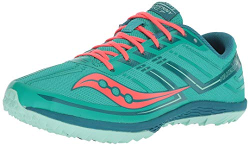 Saucony Women s Kilkenny XC 7 Flat Cross Country Running Shoe  Grey/Orange/Black  5 M US