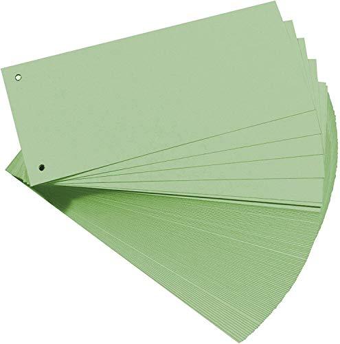Oxford Trennstreifen, Karton, farbig, grün, 100 Stück