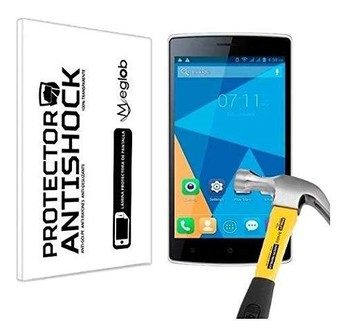 Protector de Pantalla Anti-Shock Anti-Golpe Anti-arañazos Compatible con Doogee Kissme DG580