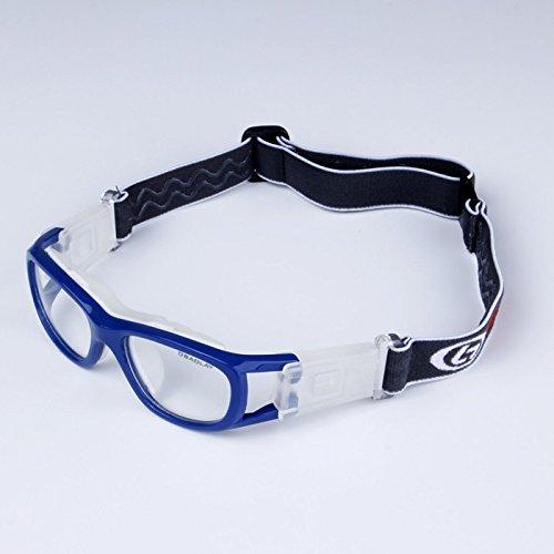 EnzoDate Kinder-Basketball-Brille für Jungen & Mädchen, klar, Objektiv Teenager Sportbrille Schutzbrille Fußball
