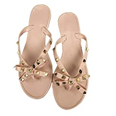 Women Flip-Flops: flip flops are the best equipment for summer. Leisure, lazy, is the taste of the summer, click here prepare a pretty flip flops for you Fashion Flip-Flops:shining studs rivets on the shoes , adding some colorful nail polish on your ...