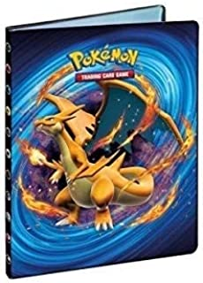 XY12 Charizard 9 pocket Pokemon Full View portfolio Ultra Pro