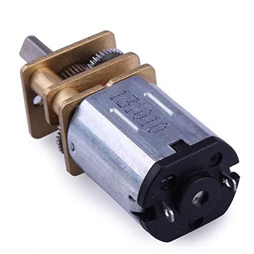 ZHIPENG N20 DC-Getriebemotor Miniatur-High Torque Elektro-Getriebe-Motor (Size : 50RPM)