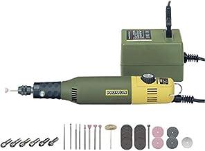 Proxxon 28515 Juego de construcción (Taladro y fresador), diámetro de 35 mm, 5.000-20.000 RPM – Grabado, Separado, etc, 40 W, 12 V, Negro, Verde, Amarillo