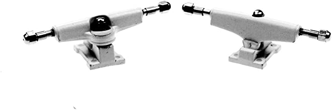 NOAHWOOD Fingerboards Parts PRO Common Trucks (34mm/Pivot Cups/Lock Nut/White)
