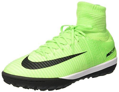 NIKE MercurialX Proximo II DF TF Mens Football Boots 831977 Soccer Cleats (UK 11 US 12 EU 46, Electric Green Black 308)
