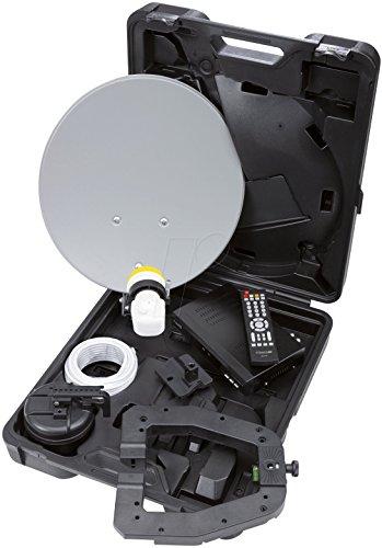 Micro CS 40 HD 15 Easyfind digitale Camping Satellitenanlage (Easyfind, Full HD, HDMI, USB, 230/12V) schwarz