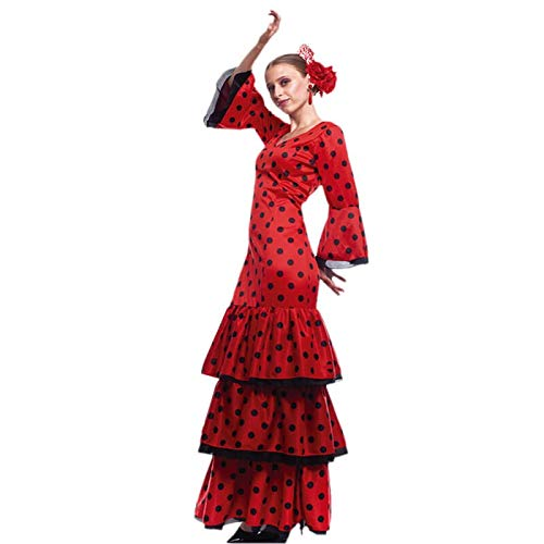 Disfraz Flamenca Mujer (Talla L) (+ Tallas) Carnaval Mundo