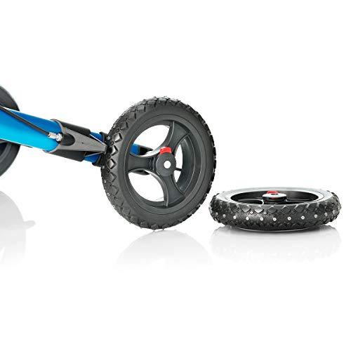 Topro Offroad-Hinterräder mit Spikes für Rollatoren Odyssé und Troja 2G mit IBS
