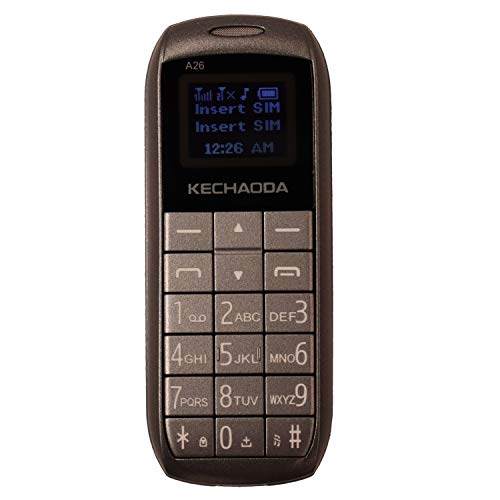 KECHAODA A26 Dual Sim Mobile Phone (Bluetooth Size,Grey, 16MB)