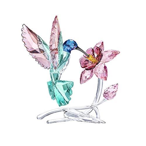 Swarovski Hummingbird Crystal Figure, Crystal, Multi-Colour, 14.7