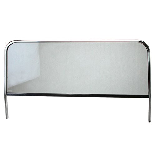 """42"""" Wide Custom Windshield, Compatible With Vw Manx Dune Buggy. Includes Aluminum Frame With Glass And Rubber Seal"""