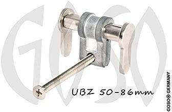 GOSO Ford 1x Notschl/üssel f/ür Smart Schl/üssel HU101 9261