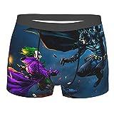 DWHao Joker - Pantalones cortos para hombre, ropa interior cómoda de cine, calzoncillos bóxer, regalos de moda para niños