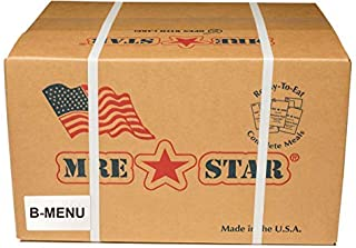 Fresh Packaged MRE Meals Ready to Eat Meal kits. Military Style Meals. Includes Delicious Entrees, Accessory Pack, Side Di...