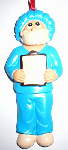 Doctor Surgeon OBGYN Midwife Labor Operating Room Nurse Christmas Tree Ornament Gift