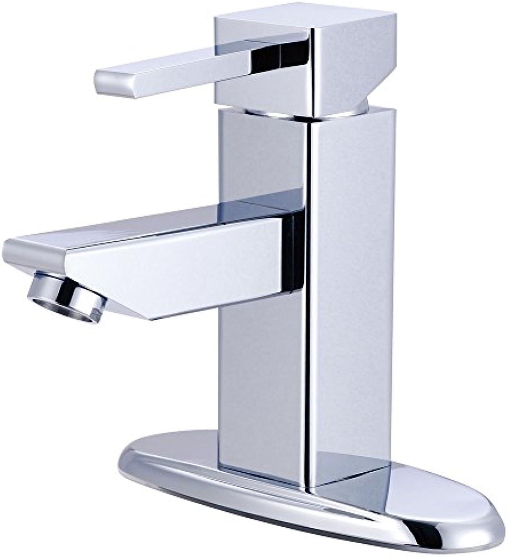Kingston Brass KS8441CL Claremont Single Handle Lavatory Faucet, 4-3 8-Inch, Polished Chrome by Kingston Brass