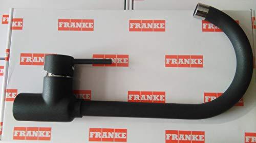 Franke 115.0298.093alta presión grifo de la cocina con caño fijo–Onyx