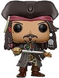 Pirates Des Caraïbes: Pop Jack Sparrow PVC Anime Figura Anime Figura 3.54 Pulgadas...