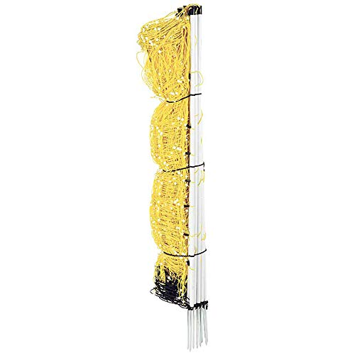 Premier Enhanced 40' Electric Sheep & Goat Net Fence, Yellow, 9/40/6EY
