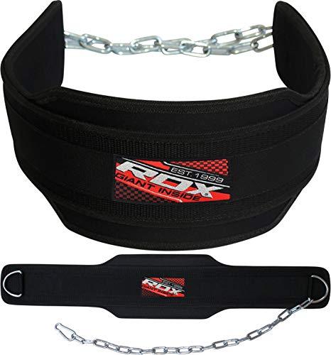 RDX Gimnasio Cinturón Peso Inmersión Entrenamiento Musculacion Cinturones Pesas Levantamiento