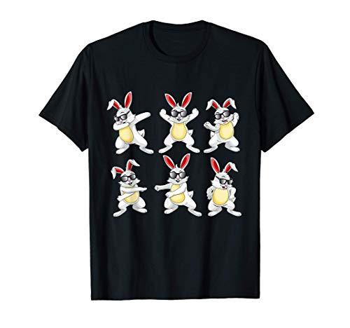 Easter Bunny Egg Dance Like a Boss Dancing Challenge Kids Maglietta