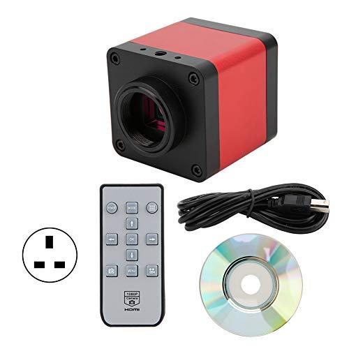 48MP 1080P 60FPS USB przemysłowy mikroskop aparat szkło powiększające do telefonu spawalniczego, wtyczka brytyjska 100-240 V