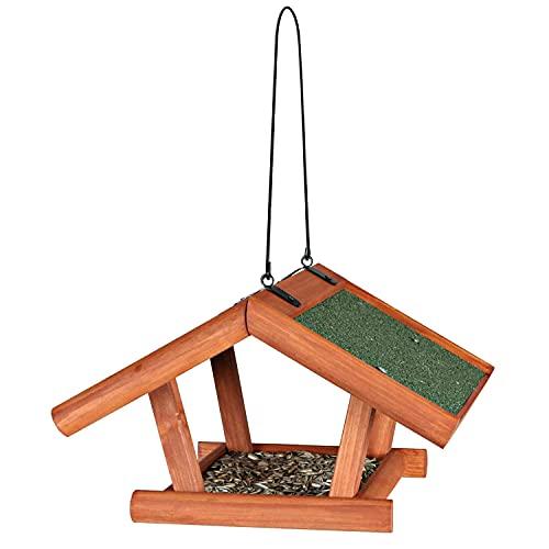 Trixie Natura - Mangiatoia per uccelli, 30 18 28 cm