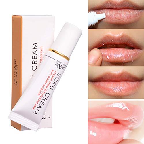 Comtervi Gel pour les Lèvres, Baume à lèvres bio Gel Exfoliant pour les Lèvres Anti-Dessèchement pour Des Lèvres Hydratées soin lèvres1PCS