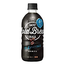 UCC Cold Brew Black ペットボトル 500ml ×24本