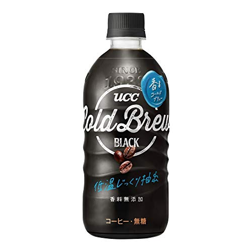 UCC Cold Brew Black ペットボトル 500ml ×24本