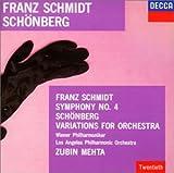 シュミット:交響曲第4番 / シェーンベルク:管弦楽のための変奏曲