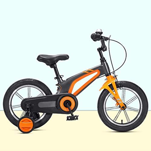KELITINAus Niños Bike Boys Girls Freestyle Bicycle 14 16 Pulgadas con Ruedas de Entrenamiento, Baby Snowdler Bicicletas para Niños para Niños de 3 a 8 Años de Edad, Bicicleta para Niños, Bicicletas d