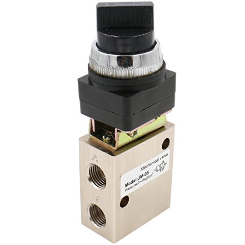 heschen jm-053Way 2Position pneumatische Selective Knopf, mechanische Ventil PT1/4Normalerweise geschlossen
