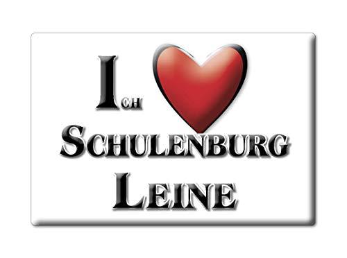 Enjoymagnets SCHULENBURG Leine (NI) Souvenir Deutschland Niedersachsen Fridge Magnet KÜHLSCHRANK Magnet ICH Liebe I Love
