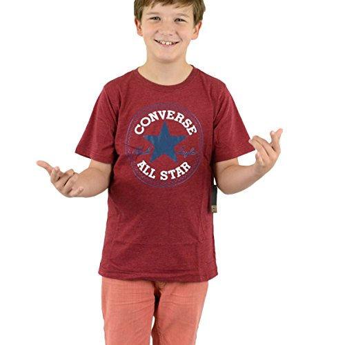 Converse Kinder T-Shirt Chuck Patch Tee Gooseberry Heather - 158-170