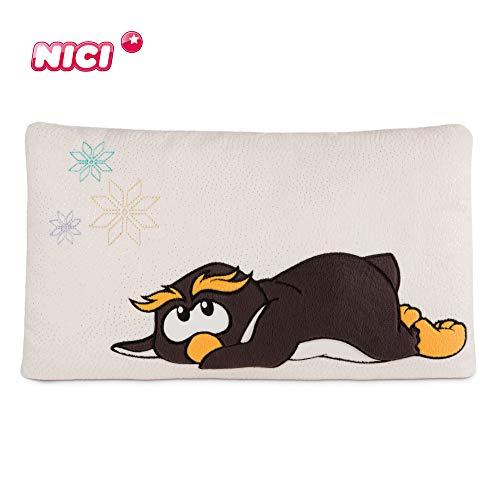 NICI Kuscheltierkissen Pinguin Frizzy 43 x 25 cm – Kuschelkissen Pinguin für Jungen, Mädchen & Babys – Flauschiges Stofftier-Kissen – Plüschtier-Kissen NICI – Gemütliches NICI Kissen – 44126