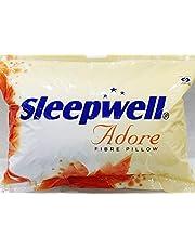 Sleepwell Adore Fibre Pillow (Multicolour) Pack of 2