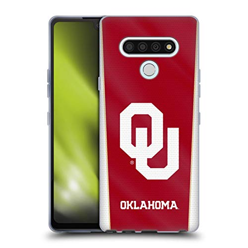 Head Case Designs Officially Licensed University of Oklahoma OU Banner Soft Gel Case Compatible With LG Stylo 6